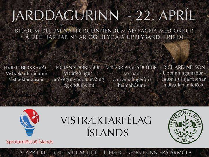 International Earth day Iceland