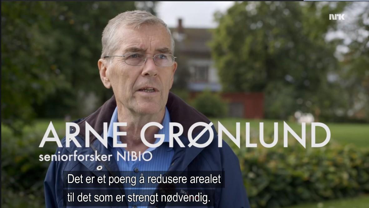 66089ff6 ... før den kontroversielle Arne Grønlund, seniorforsker ved NIBIO, omtaler  jordbruk som det sterkeste naturinngrepet nest etter asfaltering.